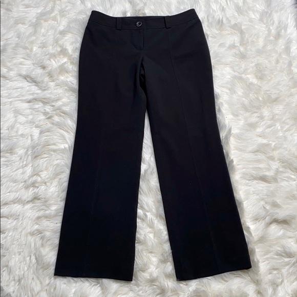 Ann Taylor Pants - Ann Taylor Signature Black Wide Leg Career Pants